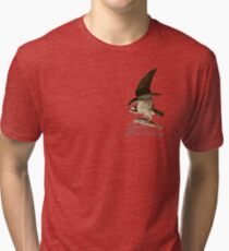 Gone Fishing - Osprey Style Tri-blend T-Shirt