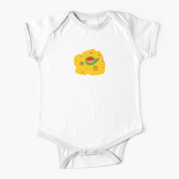 I Love Cheese Short Sleeve Baby One-Piece