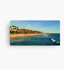 San Clemente Coastline - California Canvas Print