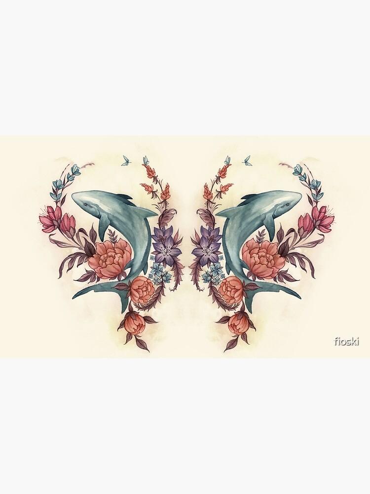Tiburón floral de fioski