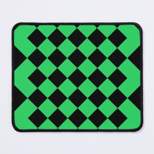 Green pattern abstract Mouse Pad