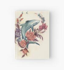 Floral Shark Hardcover Journal