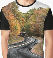 autumn road Graphic T-Shirt