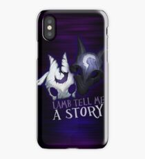 Lamb tell me a story Kindred iPhone Case