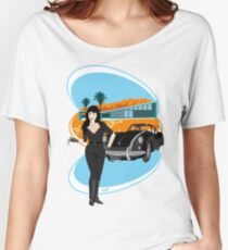 Palm Springs Welcomes Careful Drivers  Women's Relaxed Fit T-Shirt