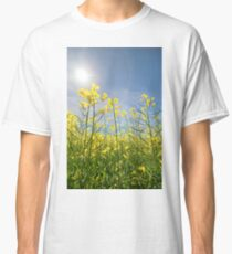 Sun Halo Over The Canola Classic T-Shirt