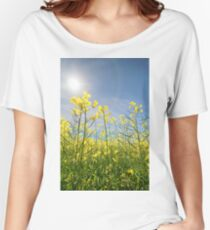 Sun Halo Over The Canola Women's Relaxed Fit T-Shirt