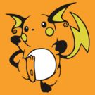Raichu by dreamlandart