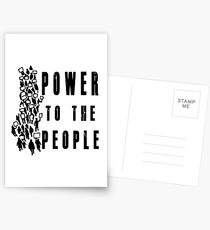 .Power to the People! Activist Protester Postcards