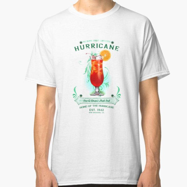 New Orleans Hurricane Cocktail Classic T-Shirt