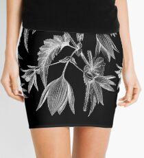 'Begonia Chelsoni Negative pt. II' collage Mini Skirt
