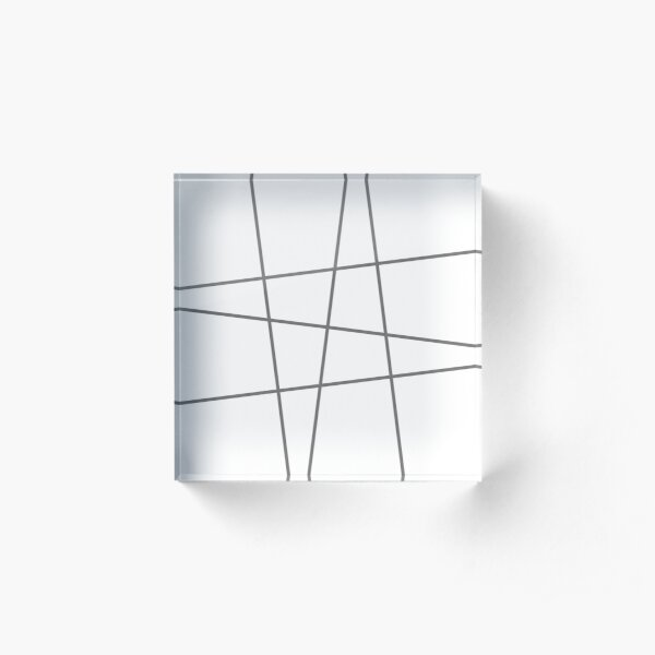 Minimalno Acrylic Block
