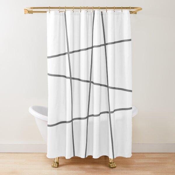 Minimalno Shower Curtain