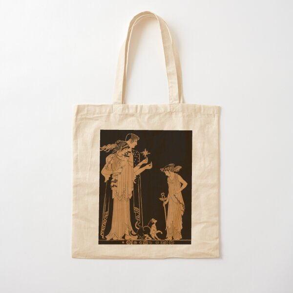 Serenity and Endymion Cotton Tote Bag