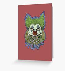 Kthulu Klown I Greeting Card