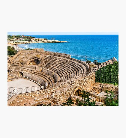 Amphitheatre by the Sea Photographic Print