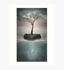 The Roots Below the Earth Art Print