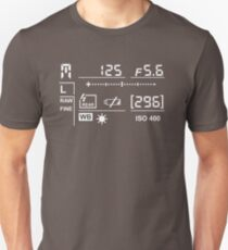 Camera Display  T-Shirt