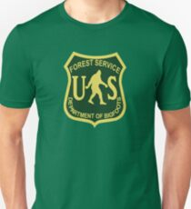 US Forest Service Bigfoot  Slim Fit T-Shirt