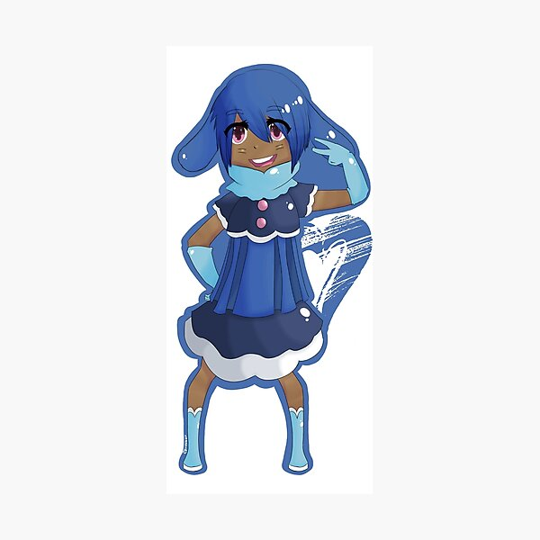Popplio Gijinka Photographic Print