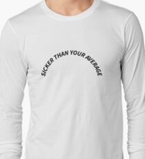 "White ""Sicker Than Your Average"" Notorious B.I.G Biggie Smalls Design T-Shirt"