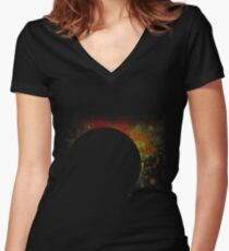 Eclipse Women's Fitted V-Neck T-Shirt
