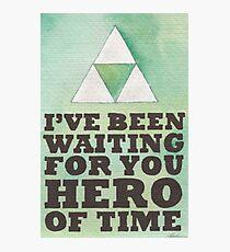 Hero of Time Photographic Print