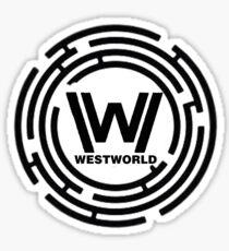 Westworld Maze 2 Sticker
