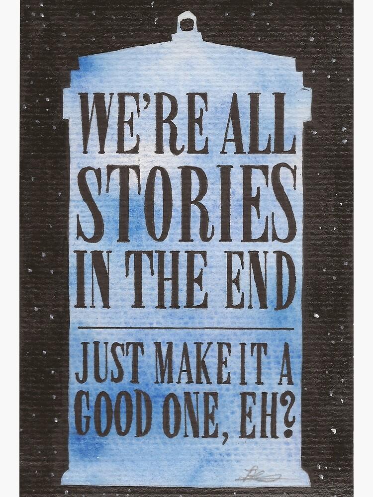 Todos somos historias al final de JadeJonesArt