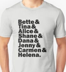 The L Word - names Unisex T-Shirt