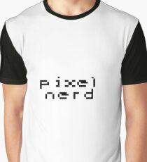Pixel Nerd Graphic T-Shirt