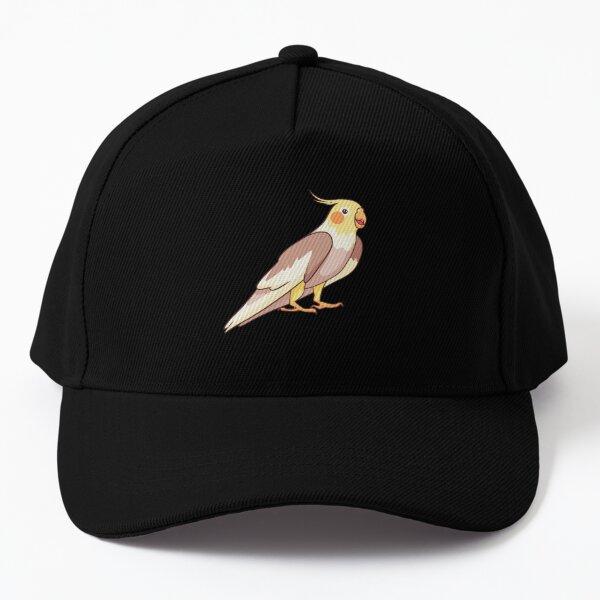 cockatiel bird Baseball Cap