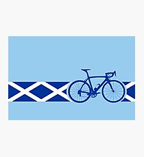 Bike Stripes Scotland Photographic Print