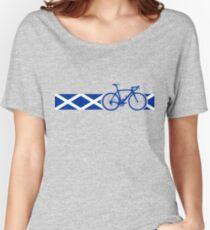 Bike Stripes Scotland Women's Relaxed Fit T-Shirt