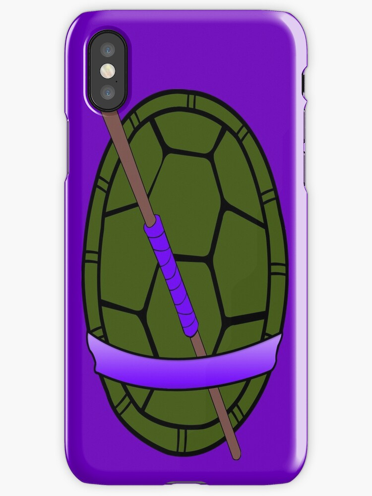 TMNT Donatello Shell Case by LumpyHippo