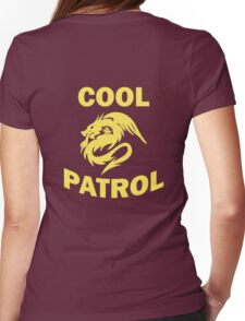 Cool Patrol Logo Womens Fitted T-Shirt