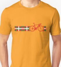 Camiseta unisex Bike Stripes Basque