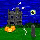 Halloween Pixel Art by GrimDork