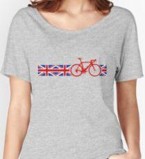 Bike Stripes Union Jack Women's Relaxed Fit T-Shirt