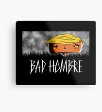 Bad Hombre - Robot Metal Print