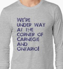 Carnegie and Ontario Long Sleeve T-Shirt