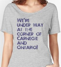 Carnegie and Ontario Women's Relaxed Fit T-Shirt
