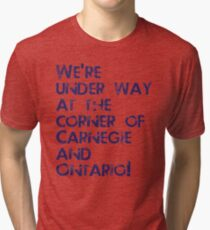 Carnegie and Ontario Tri-blend T-Shirt