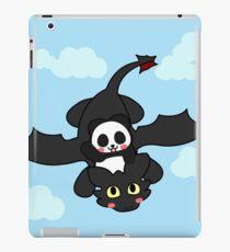 How panda train your dragon iPad Case/Skin