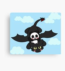 How panda train your dragon Canvas Print