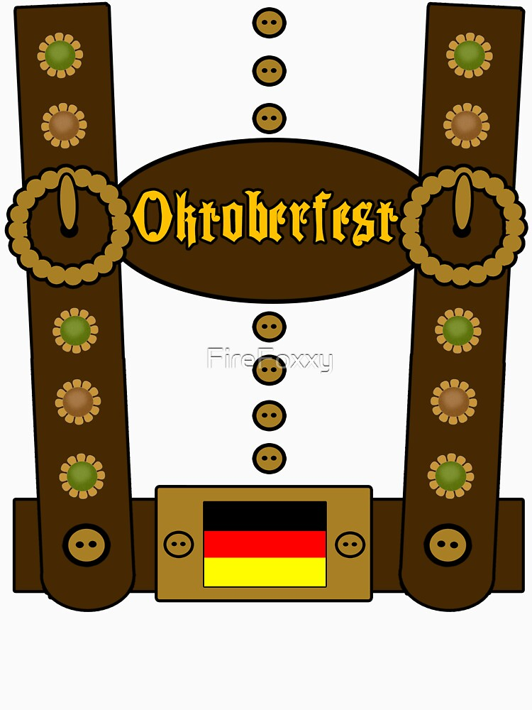 Oktoberfest Lederhosen Funny | Unisex T-Shirt