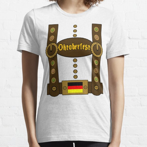 Oktoberfest Lederhosen Funny Essential T-Shirt