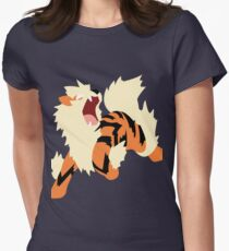 Arcanine Women's Fitted T-Shirt