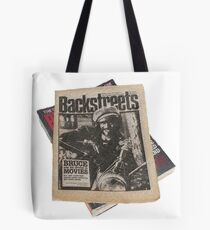 Out On The Backstreets Tote Bag