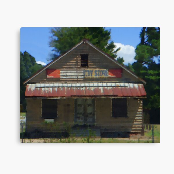 The Old South Country Store Canvas Print